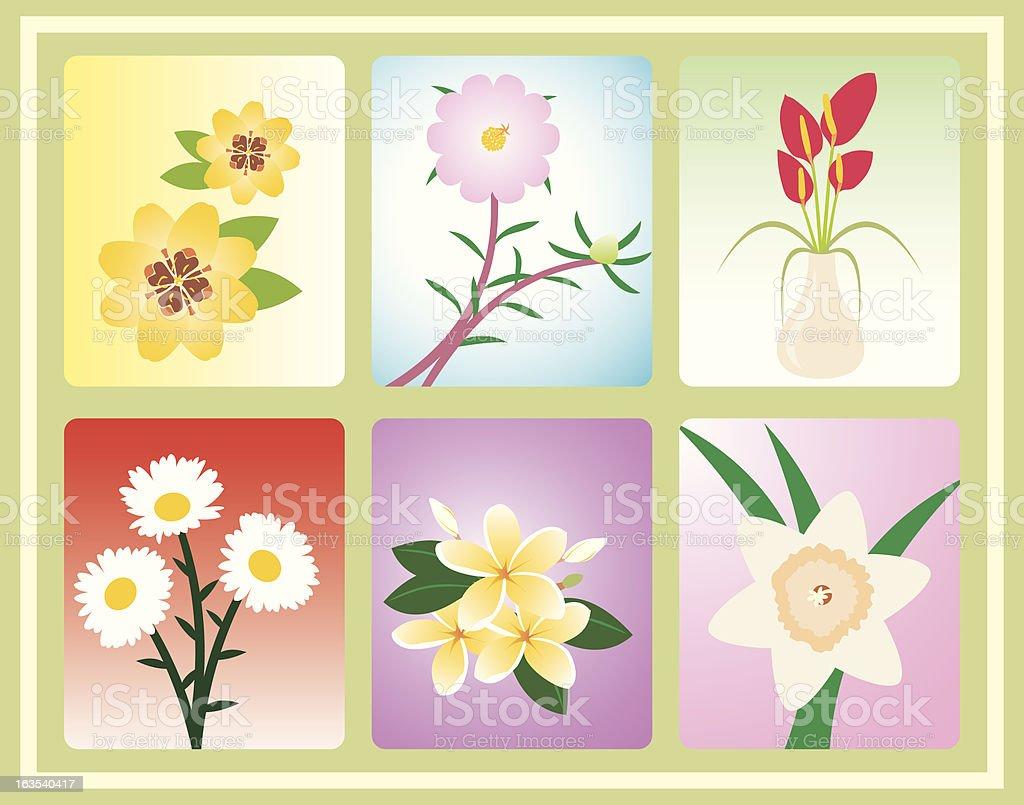 Misc Flower royalty-free stock vector art