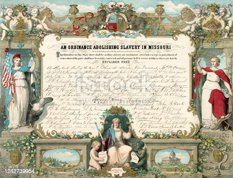 Missouri Ordinance to Abolish Slavery (1865)