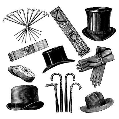 Mix of Men's Fashion Accessories