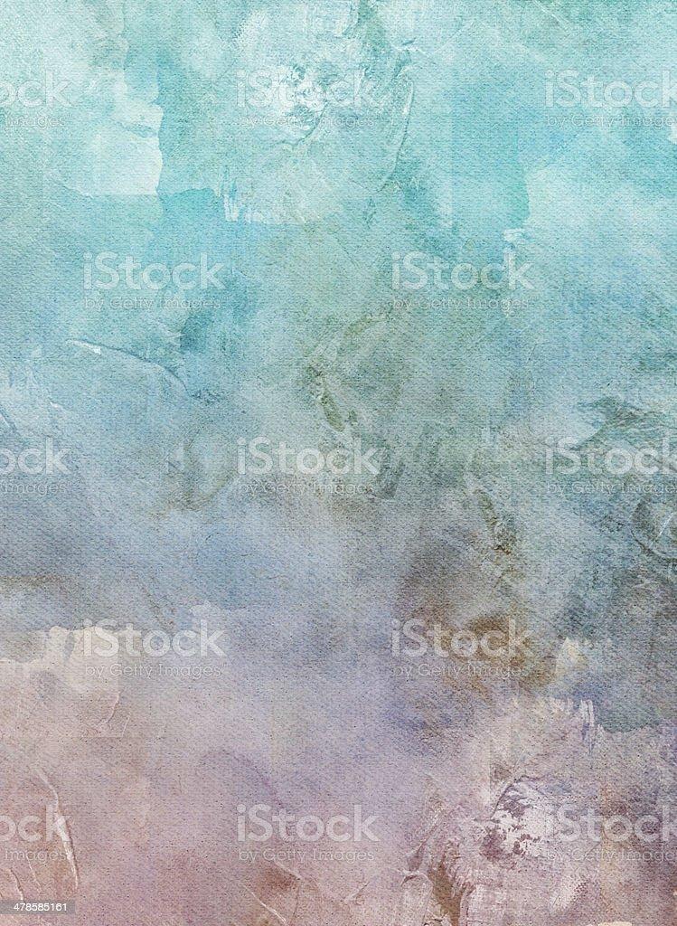 mixed media on canvas vector art illustration