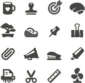 25 set of the  Mobico collection aa Office tools icons.