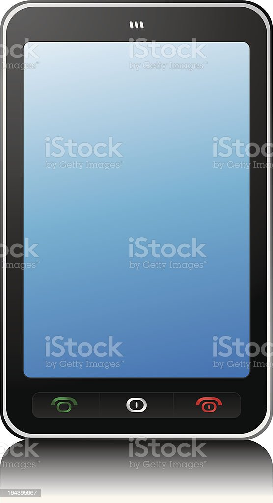 Mobile Phone royalty-free mobile phone stock vector art & more images of black color