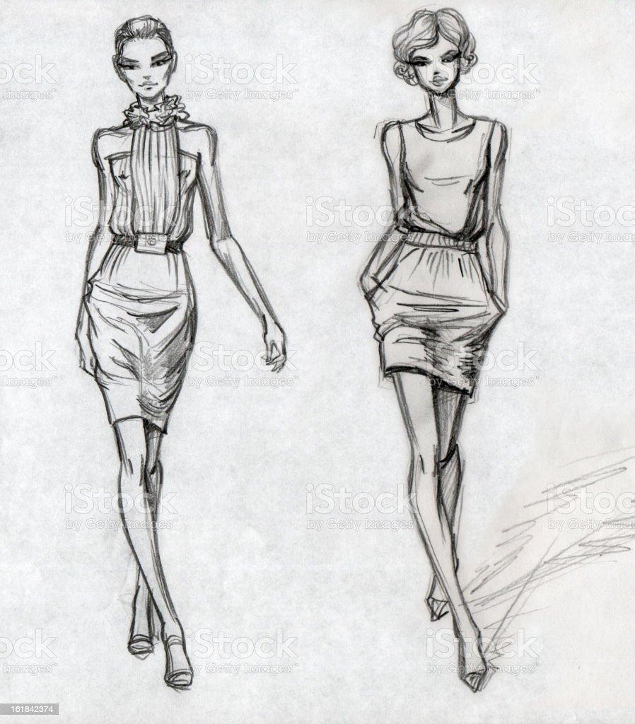 fashion sketch croquis. Black Bedroom Furniture Sets. Home Design Ideas