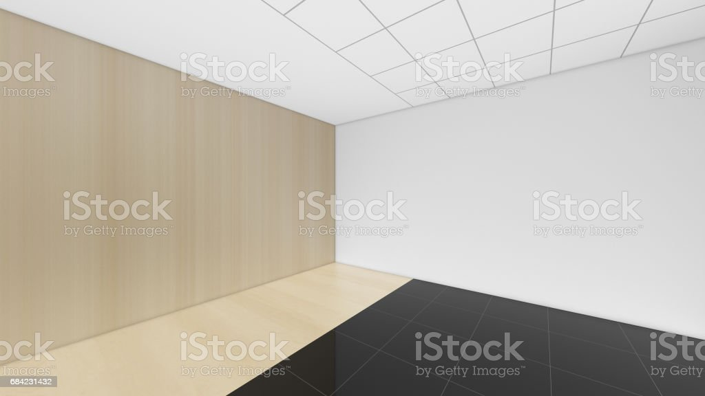 Modern Empty Room, 3d render interior design, mock up illustration royalty-free modern empty room 3d render interior design mock up illustration stock vector art & more images of apartment