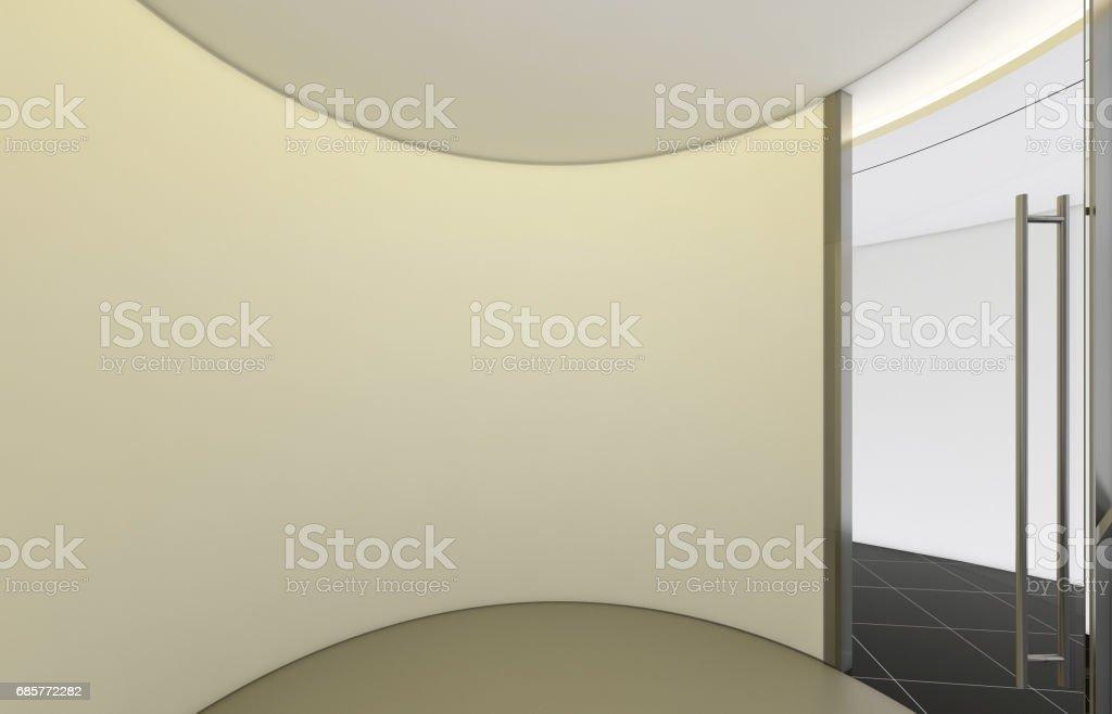Modern Empty Room, 3d render interior design, mock up illustration modern empty room 3d render interior design mock up illustration – cliparts vectoriels et plus d'images de affaires libre de droits