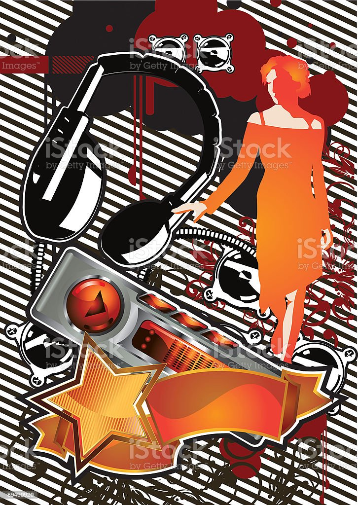 Nowoczesna koncepcja muzyki nowoczesna koncepcja muzyki - stockowe grafiki wektorowe i więcej obrazów abstrakcja royalty-free