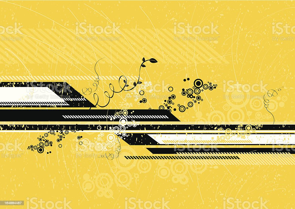 Modern yellow background royalty-free stock vector art