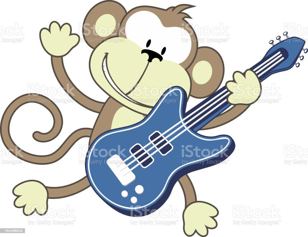 monkey rockstar royalty-free monkey rockstar stock vector art & more images of affectionate