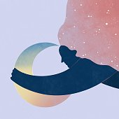 istock Moon inspiration for women 1282586336
