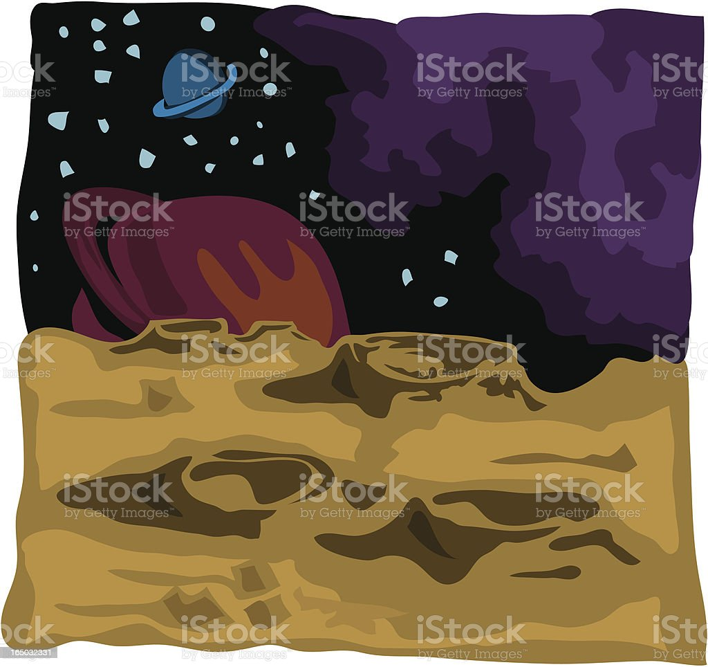 Moonscape royalty-free moonscape stock vector art & more images of alien