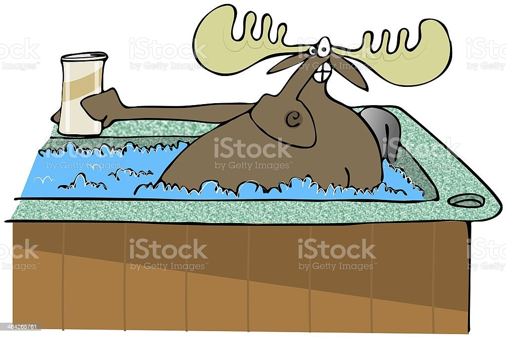 royalty free hot tub clip art vector images illustrations istock rh istockphoto com  hot tub party clipart