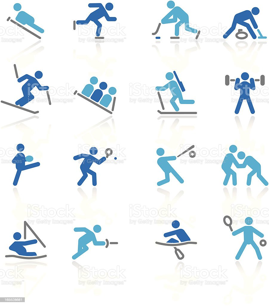 More Sports | Arctic Collection royalty-free stock vector art