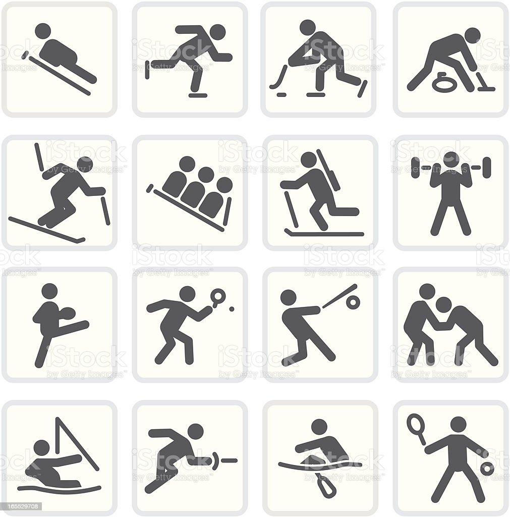 More Sports | Raw Collection royalty-free stock vector art