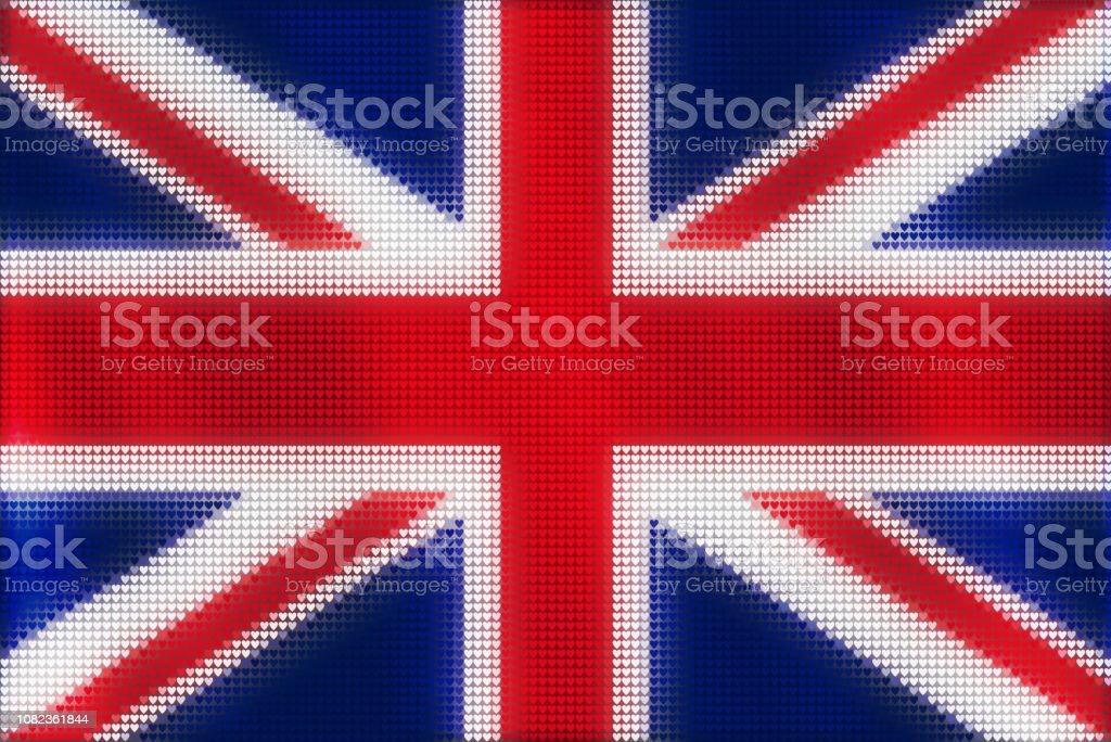 Mozaik Kalp Ruzgar Ask Vatansever Kavrami Sismis Buyuk Britanya