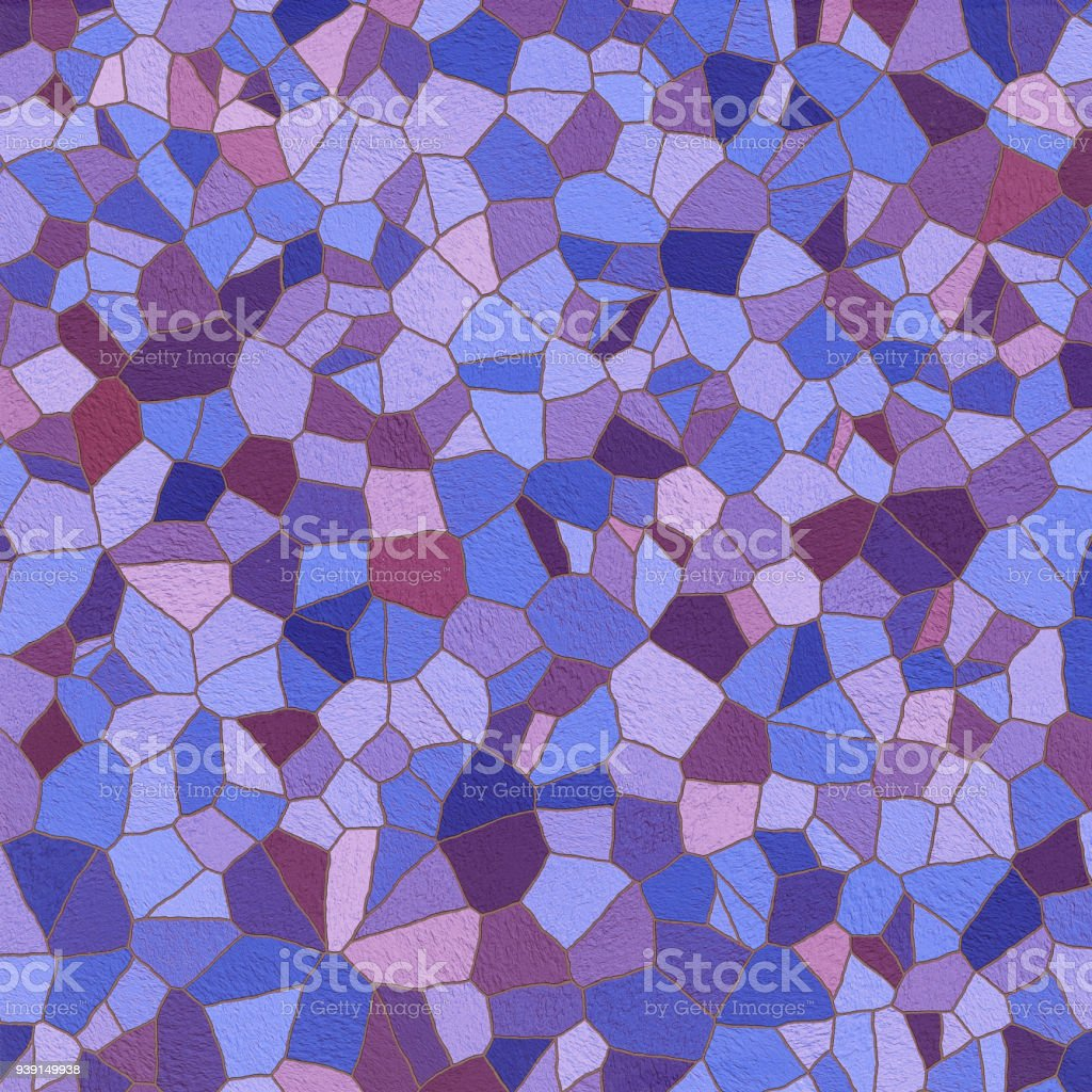 Mosaic Stone patern. vector art illustration