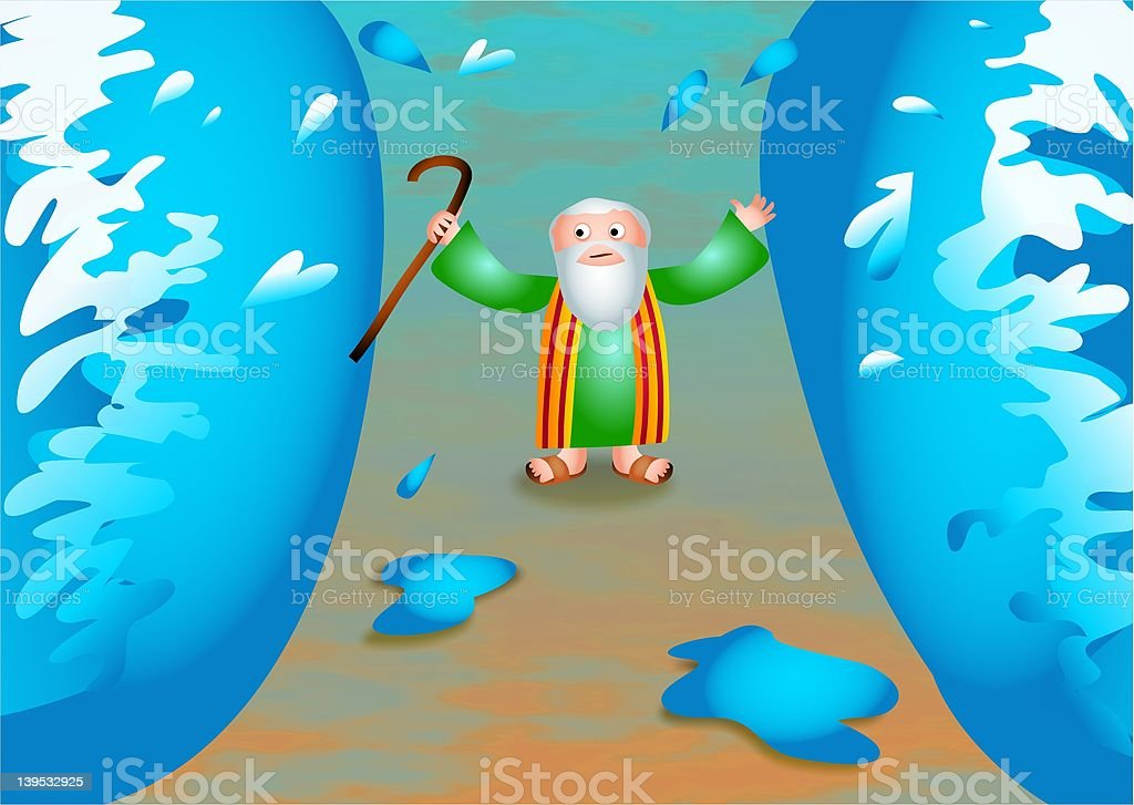 Moses - Illustration vectorielle