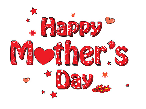 Mother Day Stock Illustration - Download Image Now