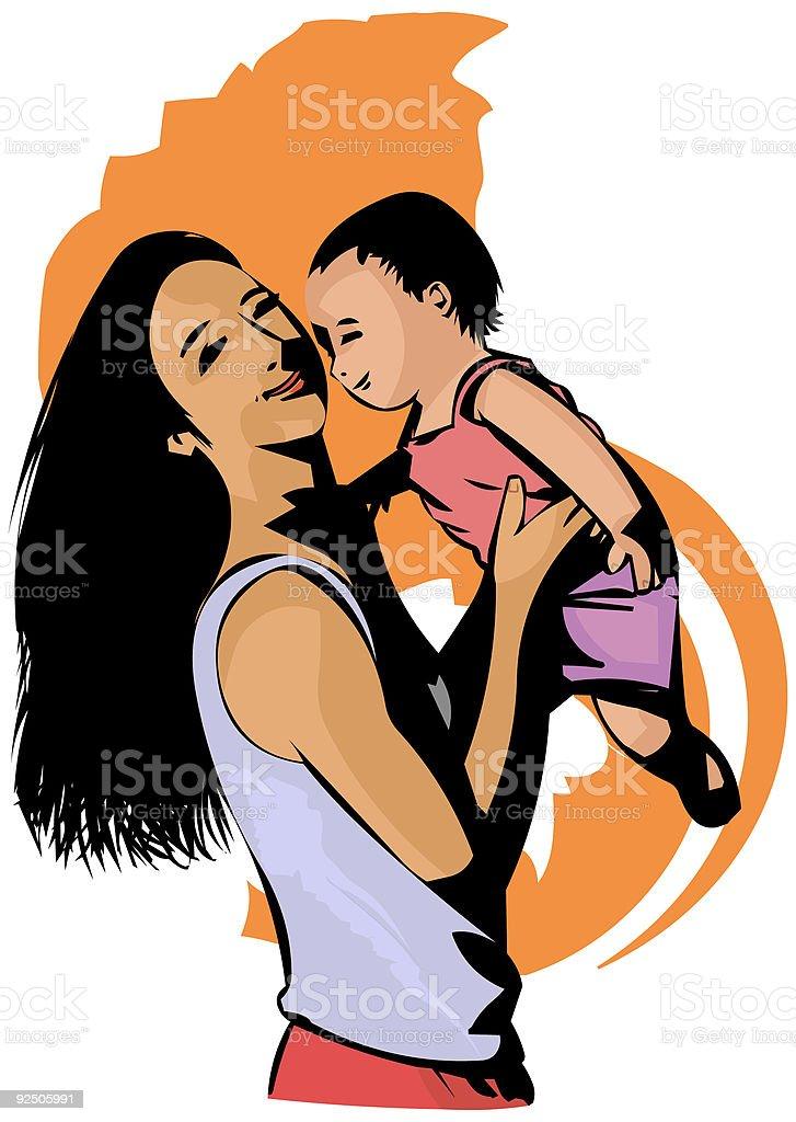 Motherhood royalty-free motherhood stock vector art & more images of adult