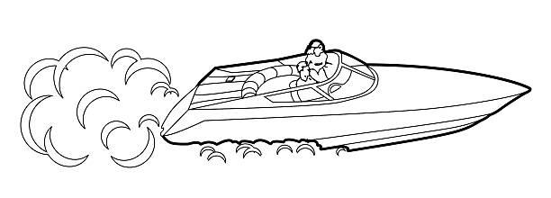 Royalty Free Water Ski Clip Art, Vector Images