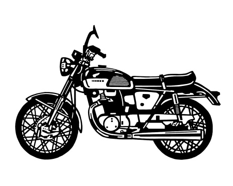Motorcycle Side View