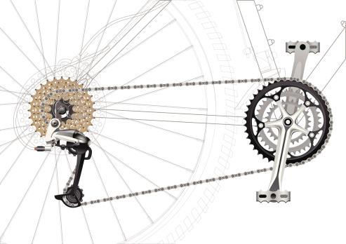 Mountain Bike Chain Drive