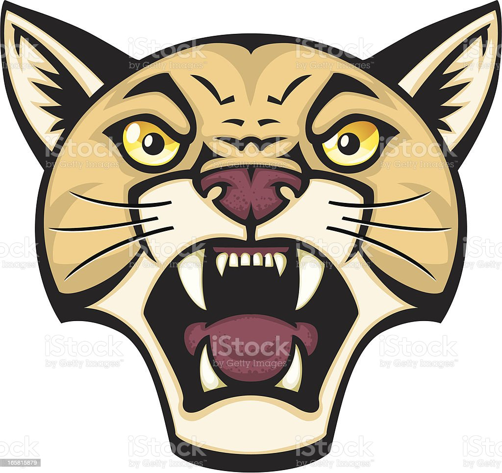 mountain lion stock vector art more images of animal 165815879 rh istockphoto com Cartoon Coyote cartoon mountain lion images