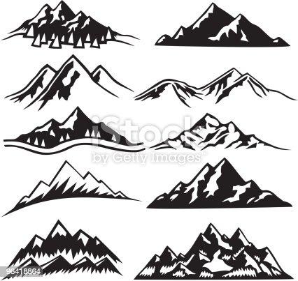istock Mountain Ranges 96418864