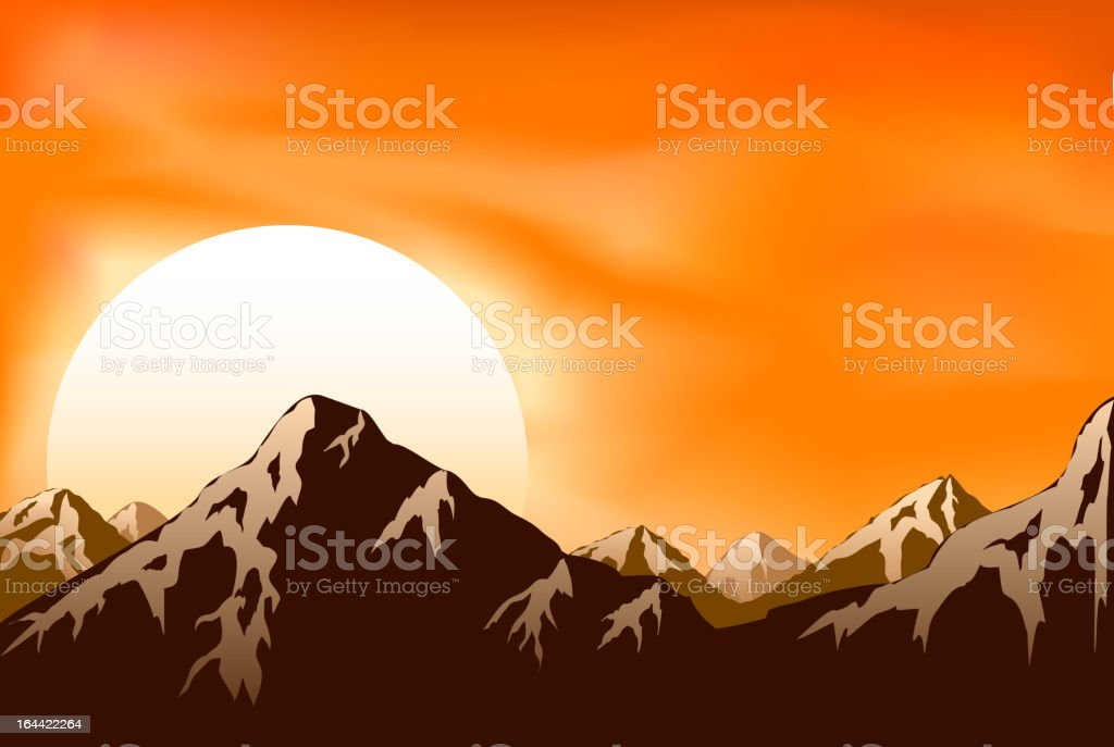 Mountains royalty-free mountains stock vector art & more images of asia