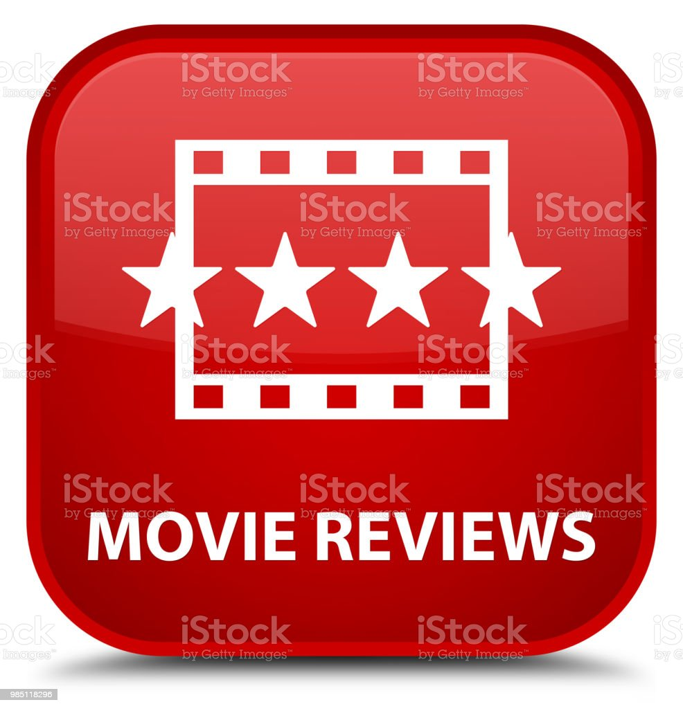 Filmkritiken Spezielle Rotes Quadrattaste Stock Vektor Art und mehr ...