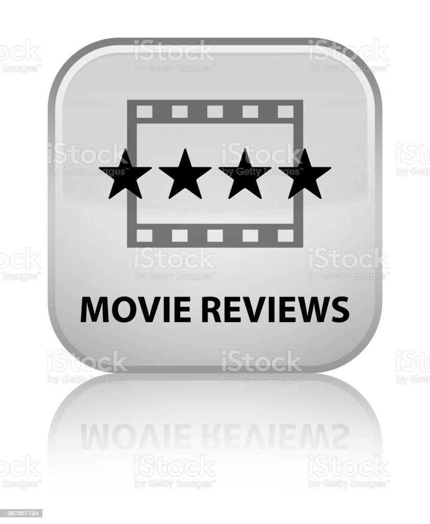 Filmkritiken Spezielle Weiße Quadrattaste Stock Vektor Art und mehr ...
