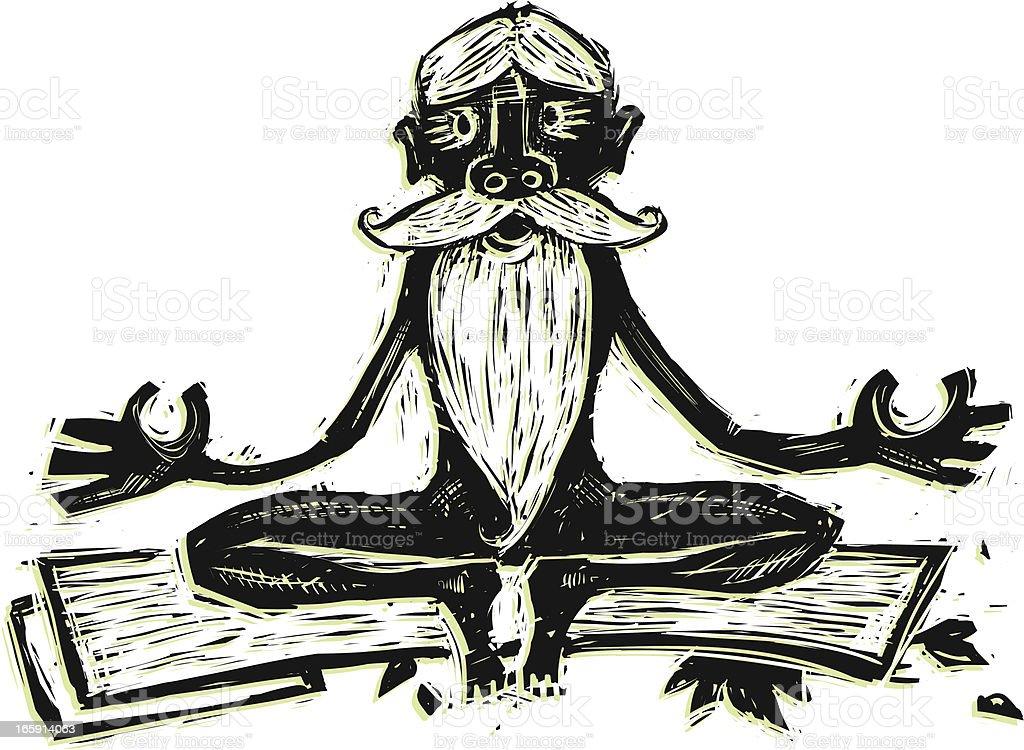 Mr. Zen royalty-free mr zen stock vector art & more images of active seniors