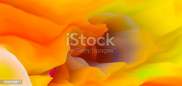 istock 3D Multi Colorful abstract background 1303256871
