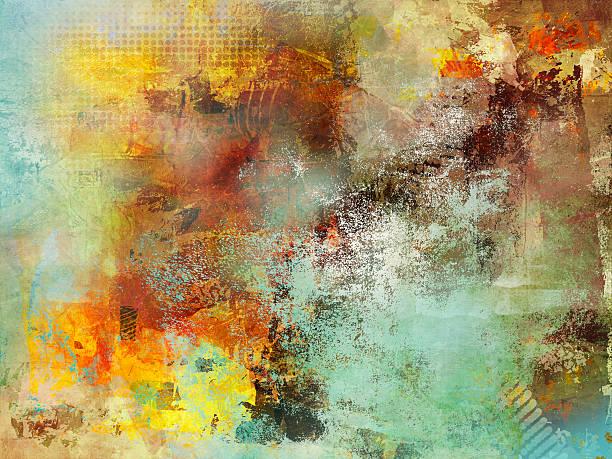 Mehrfarbig Herbst mixed media – Vektorgrafik