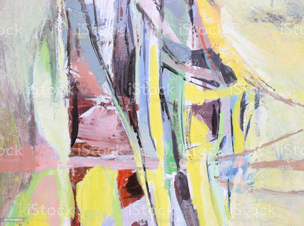 Bunten Hintergrund Texturepainting Abstrakte Kunst Hintergrund Acryl ...