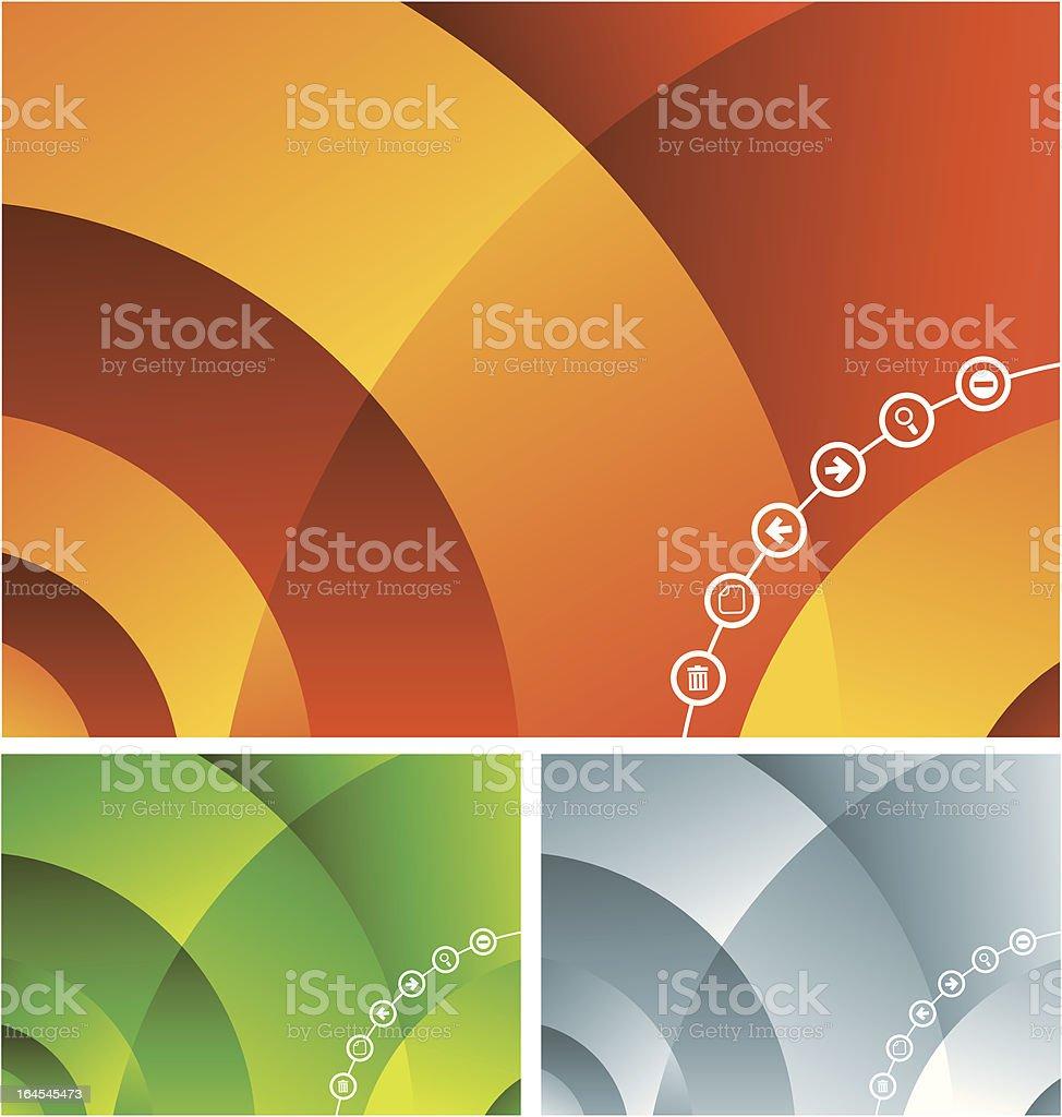Multimedia abstract royalty-free stock vector art