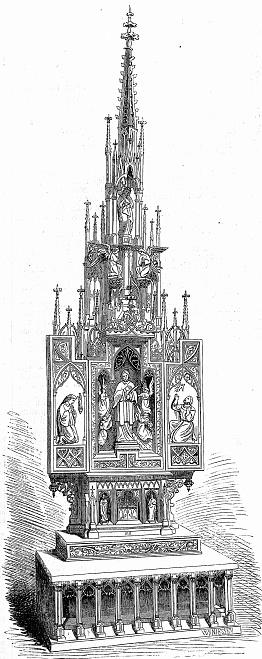 Munich cathedral, Frauenkirche, altar