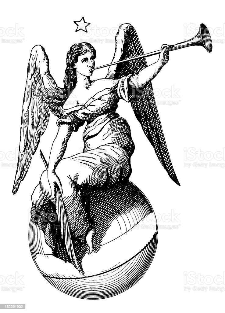 Muse/античный дизайн иллюстрации векторная иллюстрация