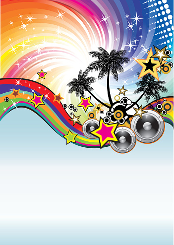 Music Event Discoteque Flyer Stock Illustration - Download Image Now