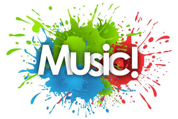 die Musik – Vektorgrafik