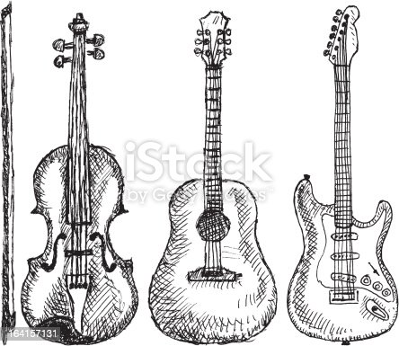 Music Instruments Stock Vector Art & More Images of