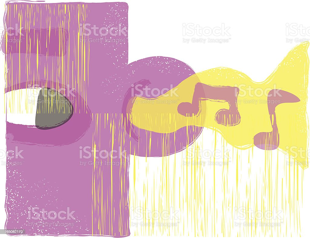 Music to my ears. royalty-free stock vector art