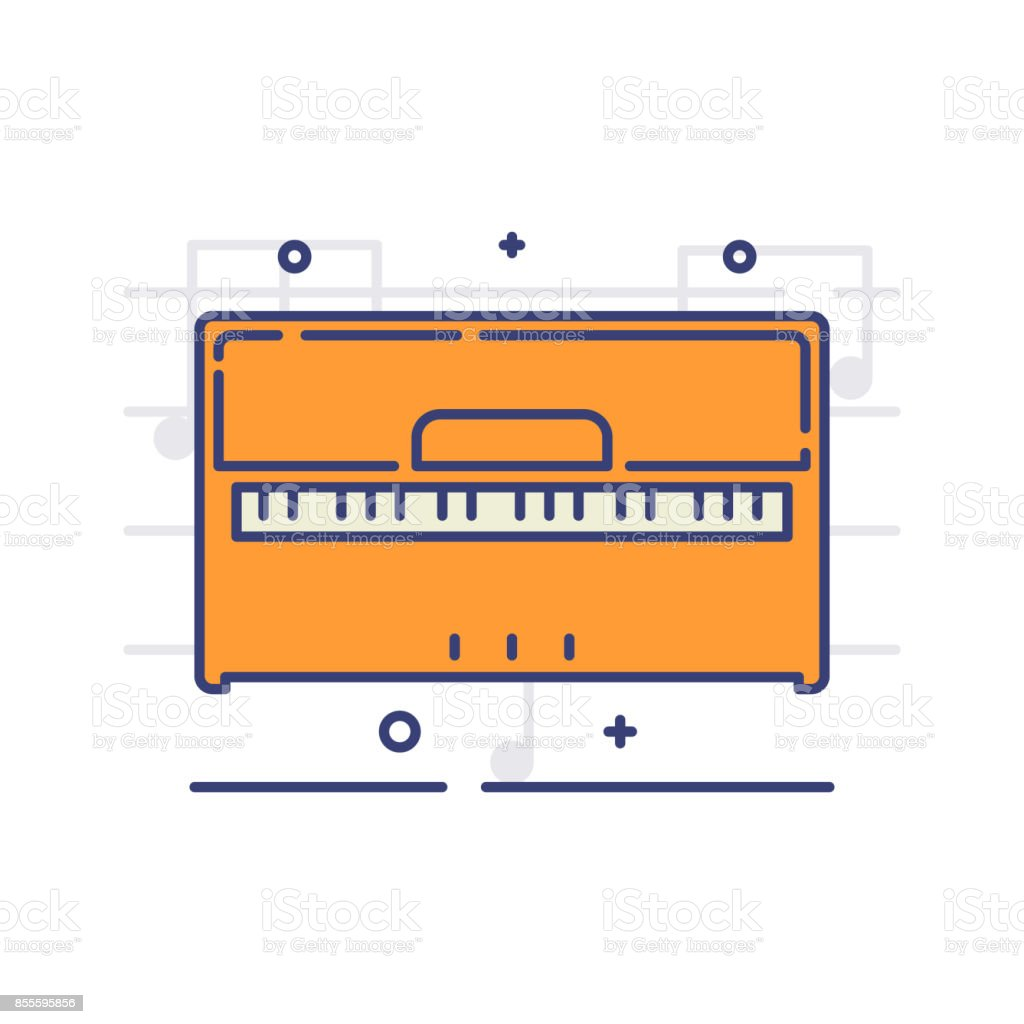 Musical_instruments vector art illustration