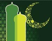 Muslim Ramadan abstract