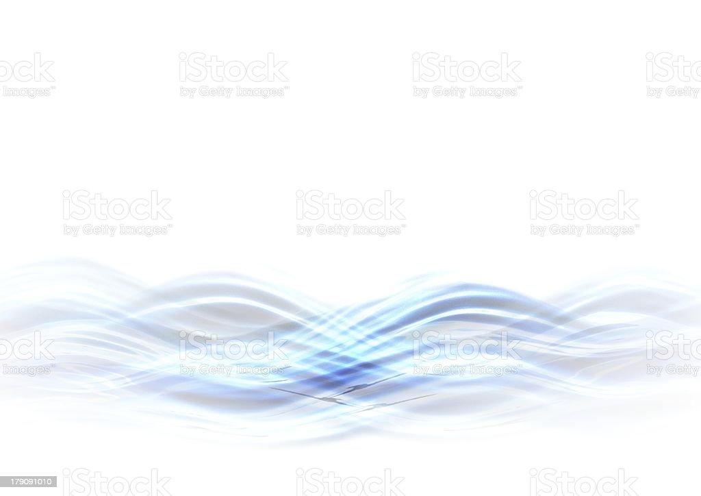Muster in blau royalty-free stock vector art