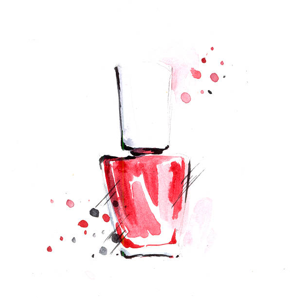 Nail Art Vector: Best Nail Polish Illustrations, Royalty-Free Vector