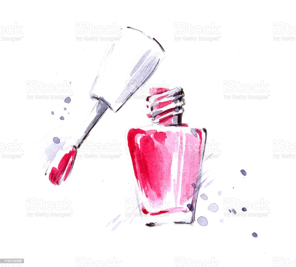 nail polish stock vector art   more images of 2015 Free Clip Art Information Free Sign Clip Art