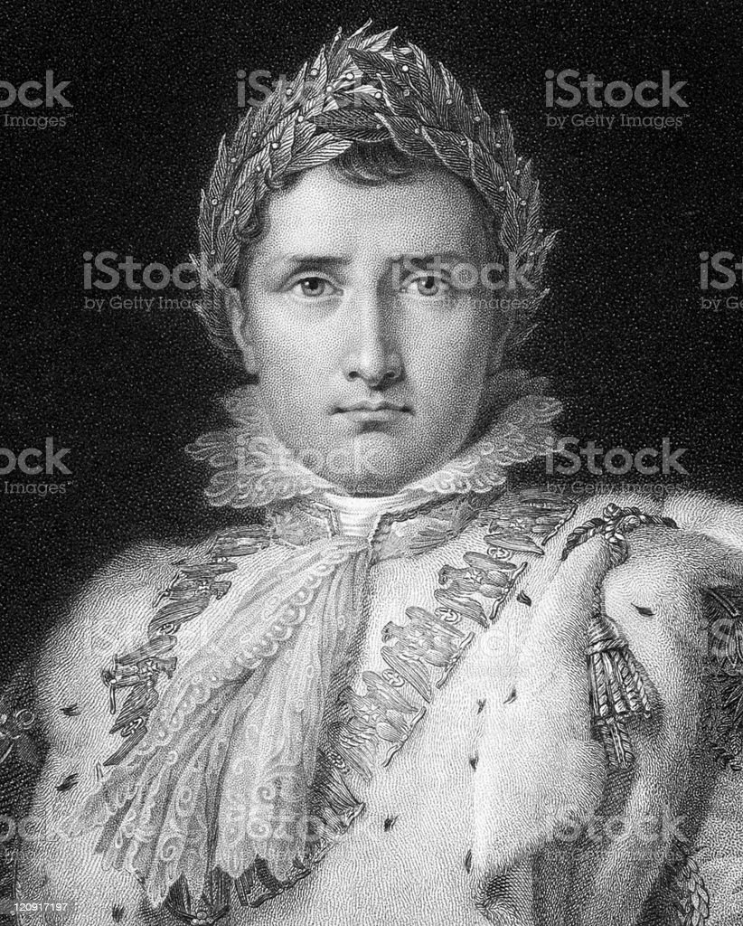 Napoleon Bonaparte vector art illustration