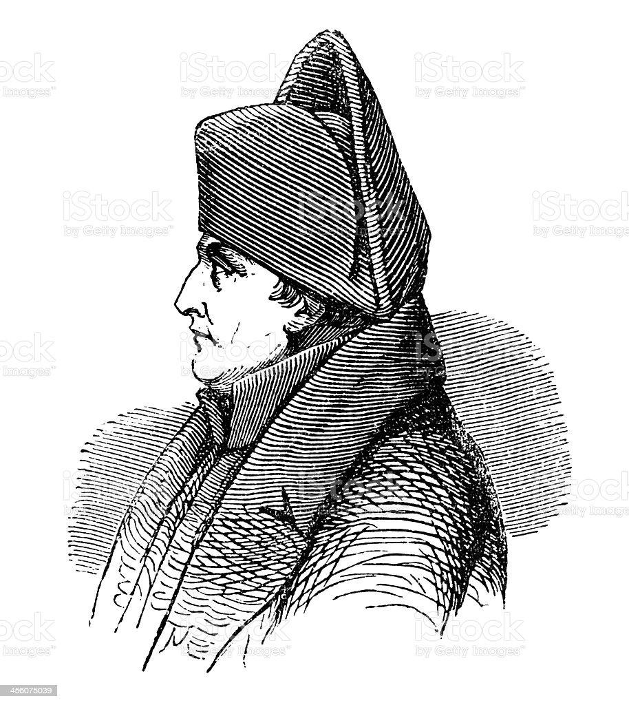 Napoleon Bonaparte (1877 illustration) royalty-free napoleon bonaparte stock vector art & more images of 1870-1879