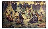 From The Hiawatha Primer - 1898