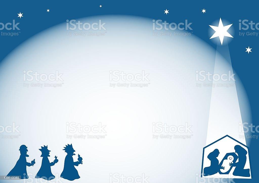 Frontière de Nativité - Illustration vectorielle